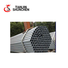 galvanized pipe round steel tube mild steel tube tianjin