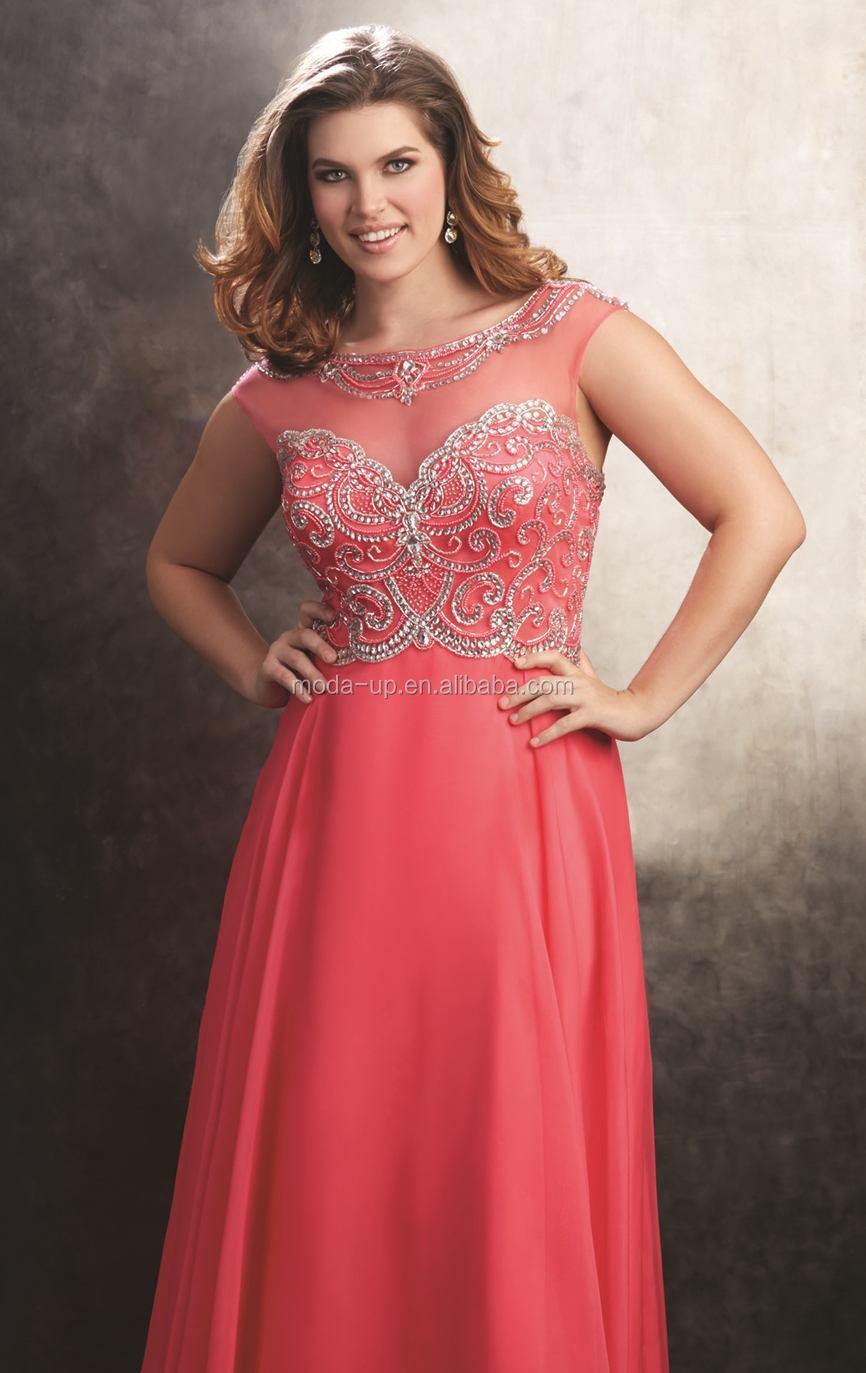 Plus Size Dress,Beaded Dress Designs Fat Women,Fat Evening Dress ...