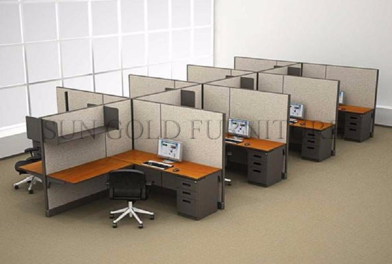 Office Staff Table 8 Seater Computer Cubicle