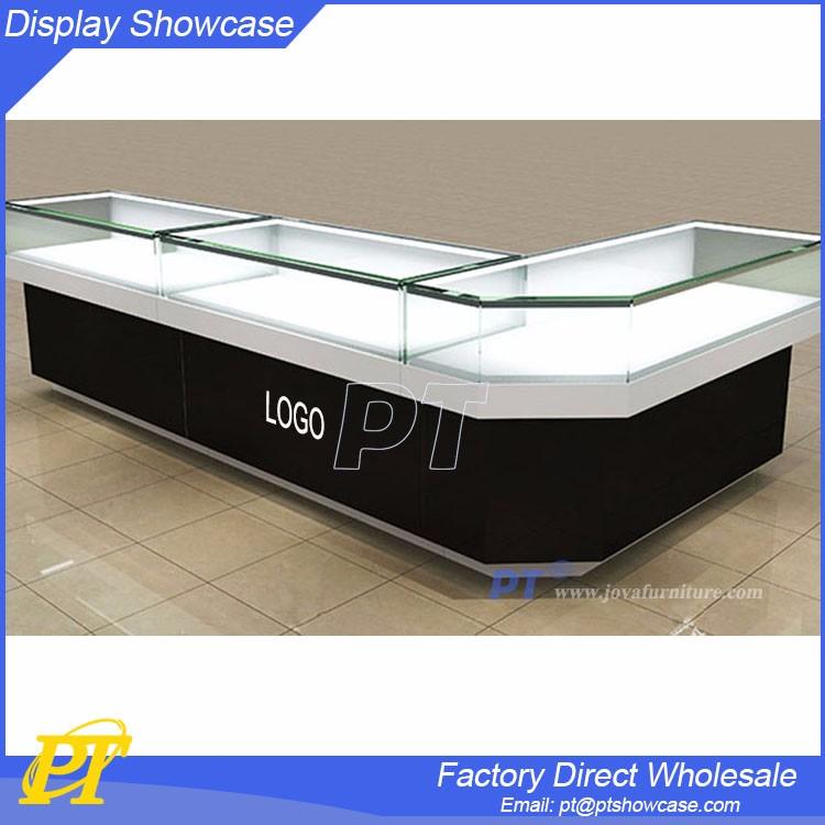 style moderne en verre bijoux vitrine et comptoir design pour bijoux boutique buy product on. Black Bedroom Furniture Sets. Home Design Ideas