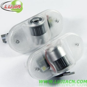 All-in-one car project logo light for VW Touran(08-13)LJ-VW-logo-Led, about 50,000hours V.W. door light kit.
