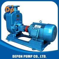 motor driven big flow diesel oil transfer self-priming pump
