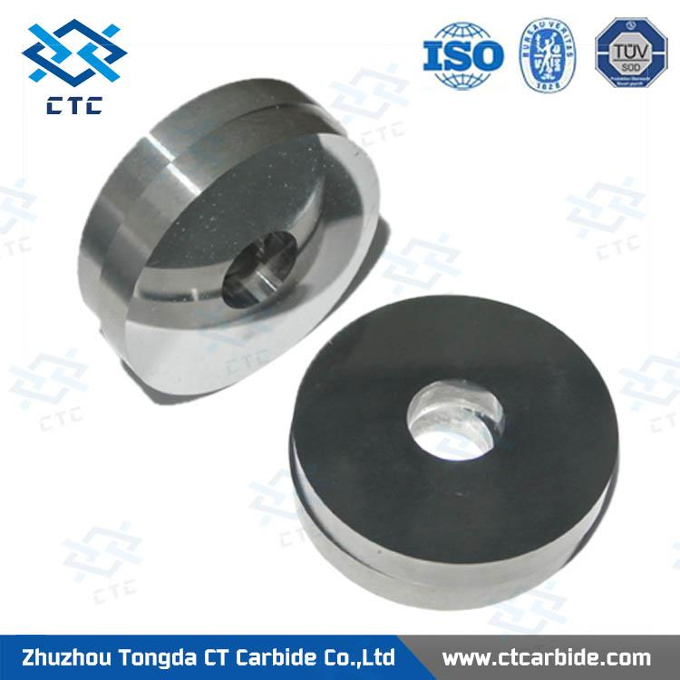 Professional durable tungsten carbide punch die blanks with sink