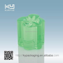 GC-2012 bright greem surlyn perfume plastic cap with PP insert for perfume bottle