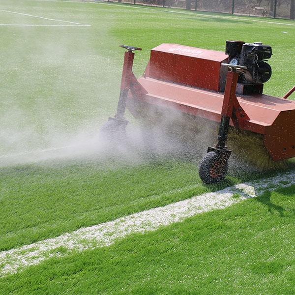 M quina de cepillo de hierba de c sped artificial c sped - Suelo hierba artificial ...