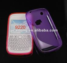 cellphone S-line TPU cover for blackberry 9220 curve
