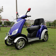 new design 4 wheels elderly and disabled CE approved electric mobility scooter