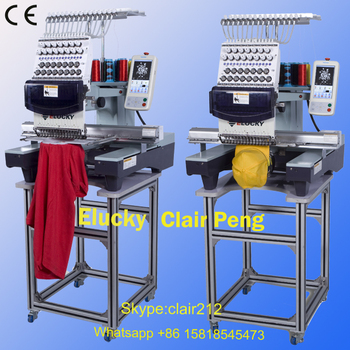 Used Embroidery Machines For Sale >> Elucky New 15 Needles One Head Similar Used Brother Embroidery