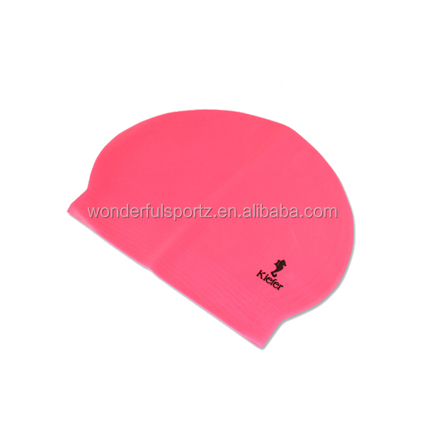 silicone swimming cap for long hair,silicon swim cap