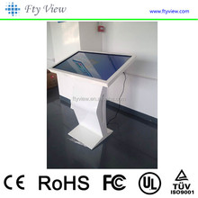 55 Inch interactive/multimedia touch screen system flat panel all in one pc kiosk