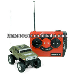 2014 Hot Products 1:60 scale 5 channel Mini RC Hummer radio control car with light