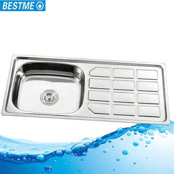 Deep Single Bowl Stainless Steel Philippines Kitchen Sink With ...
