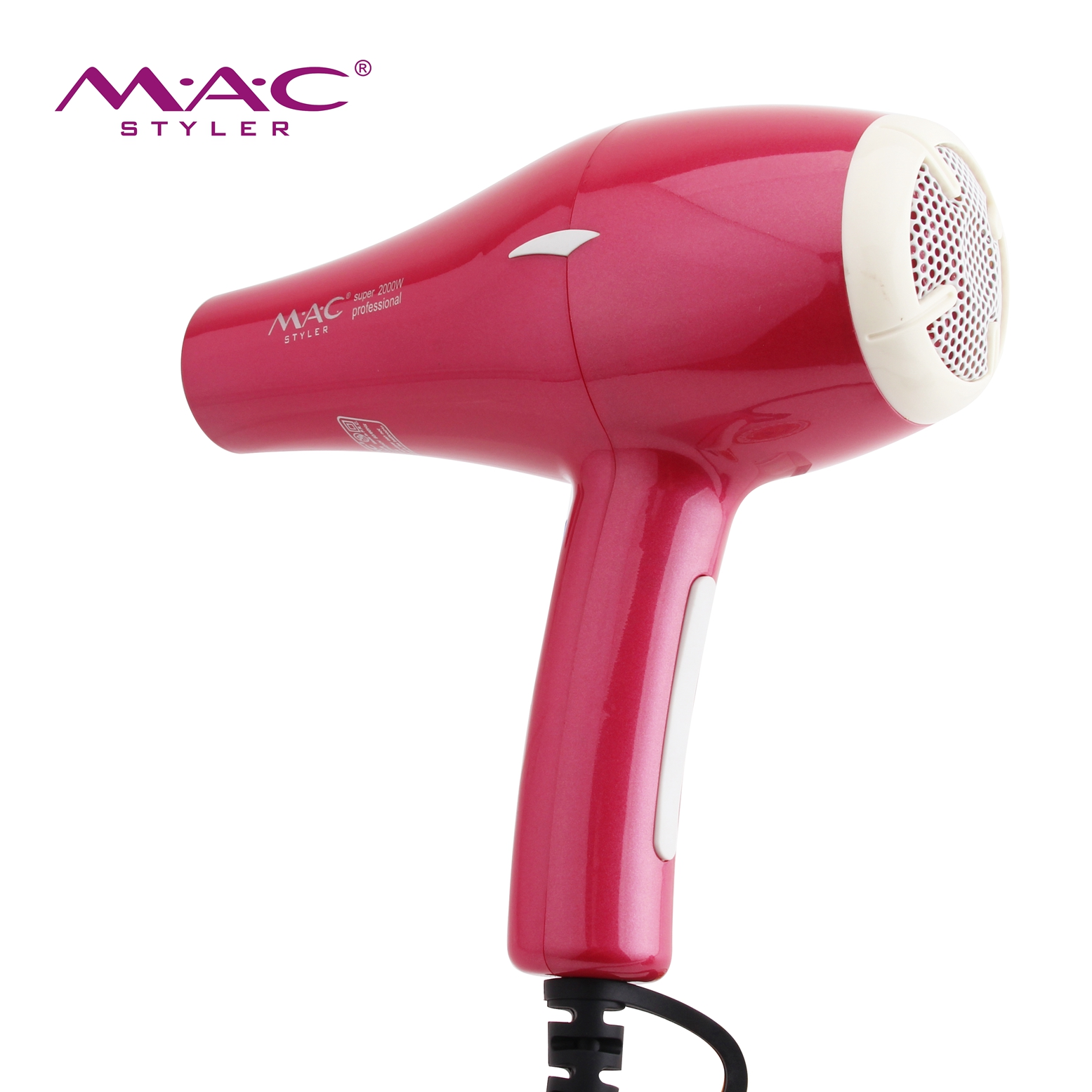 Hot Magic Salon Professional Hair Dryers with Concentrator Dual Voltage AC Motor Safety Hair Dryers