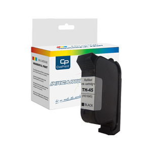 2580 solvent black ink cartridge for 45 printer cartridge