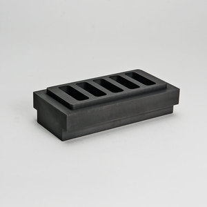 High purity graphite mould ingot for sliver gold