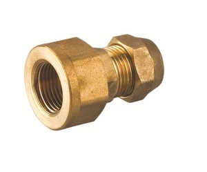 brass compression copper fitting