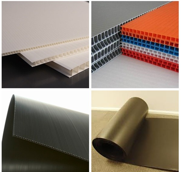 Best price for 4'*8' PP sheet for construction 2--3mm thickness plastic corrugated sheet for protection floor