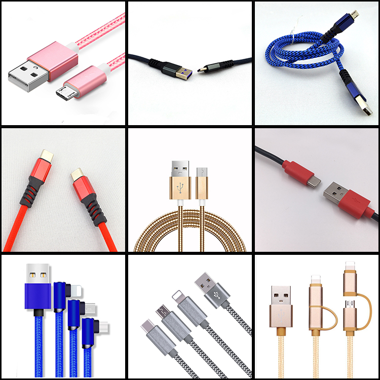 शेन्ज़ेन विश्वसनीय और सस्ते बेहतर गुणवत्ता 10 cm माइक्रो यूएसबी चार्ज डेटा केबल मोबाइल फोन के लिए इस्तेमाल किया