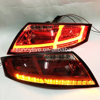 For Audi for TT LED Tail Light Rear lamp 2006-2013 year Cherry red