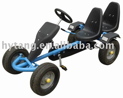 two seats pedal go kart GC0210