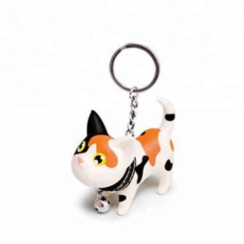 Custom Design Made Plastic Cartoon Dog Key Chain,Wholesale Plastic Key Tags  - Buy Plastic Dog Keychains In Bulk,Clear Plastic Keychains
