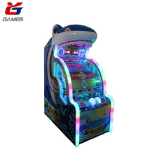 YDA coin operated games indoor amusement bass wheel arcade ticket redemption prize rolling game machine