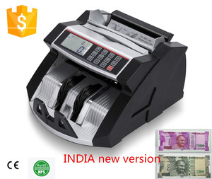 money serial number machine high quality money counter LCD new indian design money printing machine