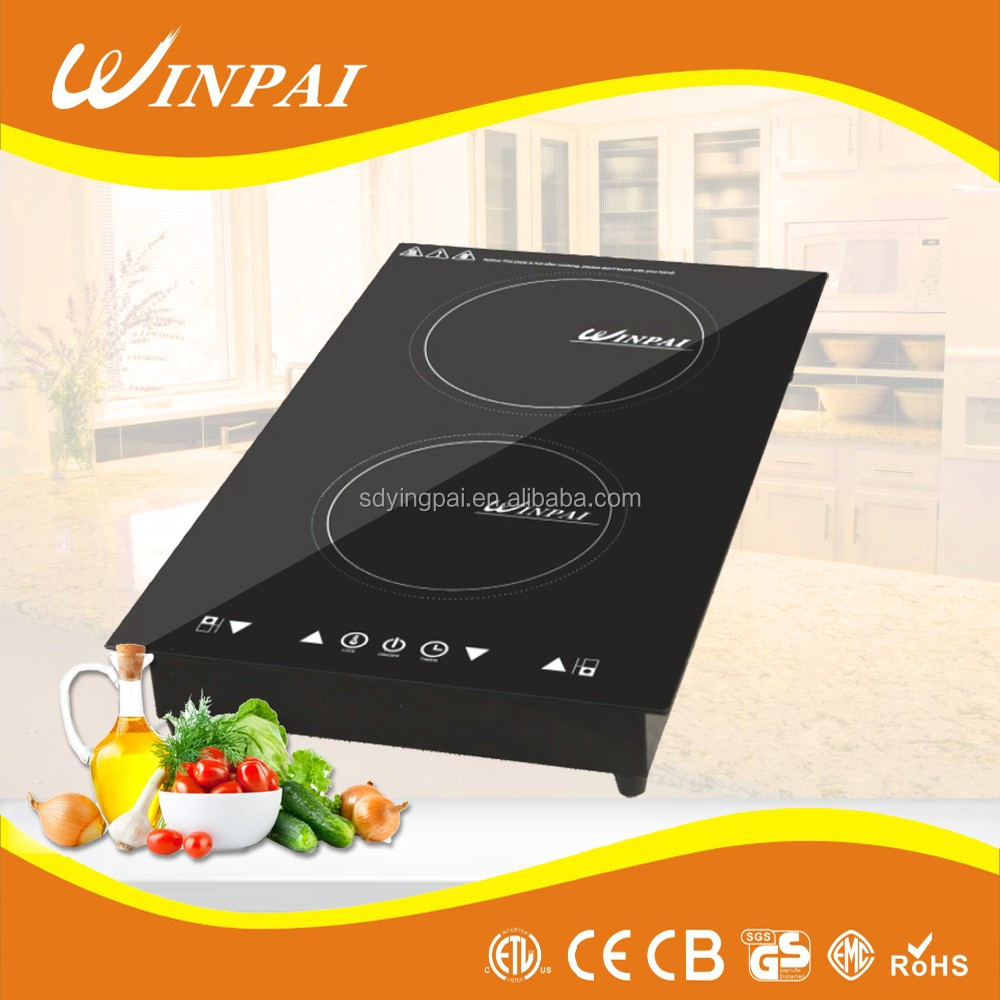 Double Induction Cooker Vertical Type Induction Cooktop With Touch Screen