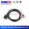 High quality 5 bnc male connector to db25 vga 25 pin cable