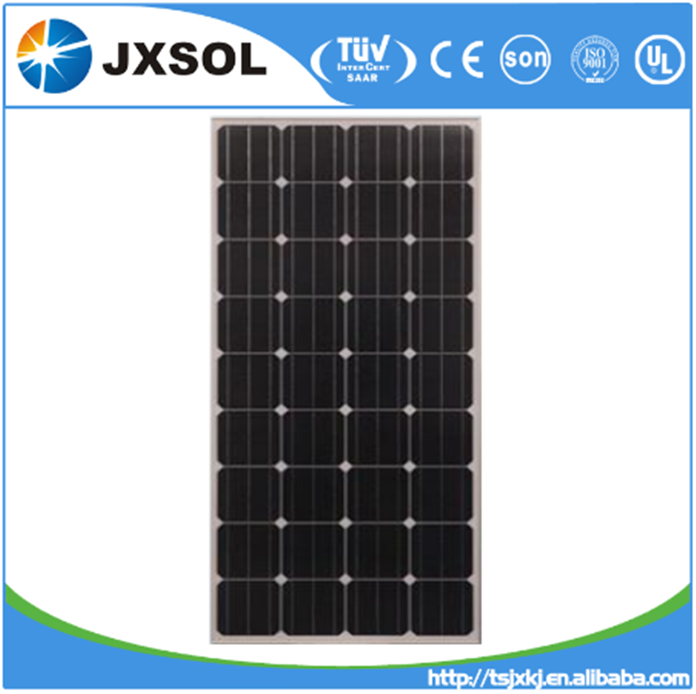 Photovoltaic pv solar panel/solar module 150w for 10kw 15kw 20kw 30wk 50kw off-grid system