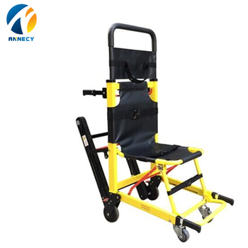 AC-SC006 Quality assured ambulance adjustable patient Emergency Evacuation Stair stretcher Chair lift folding for sale