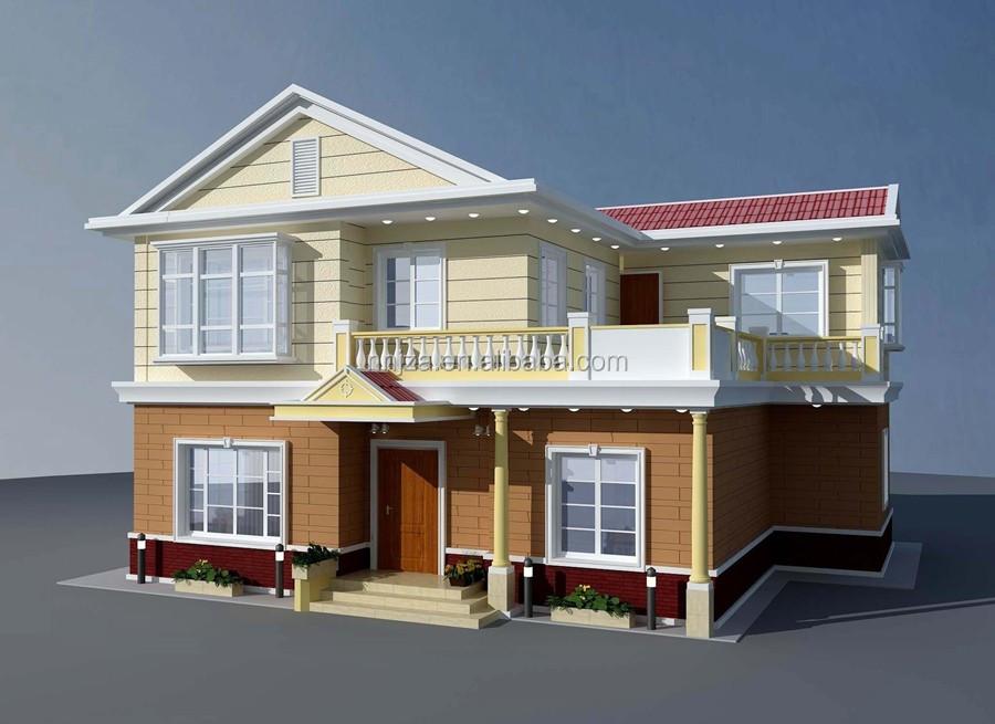 Ready Made Economic Prefabricated Modular Concrete Villa