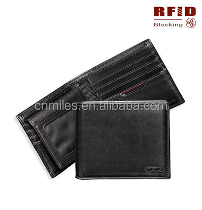 RFID blocking security wallet- Protect your previate information men wallet
