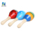 wholesale musical toy wooden maracas for baby education