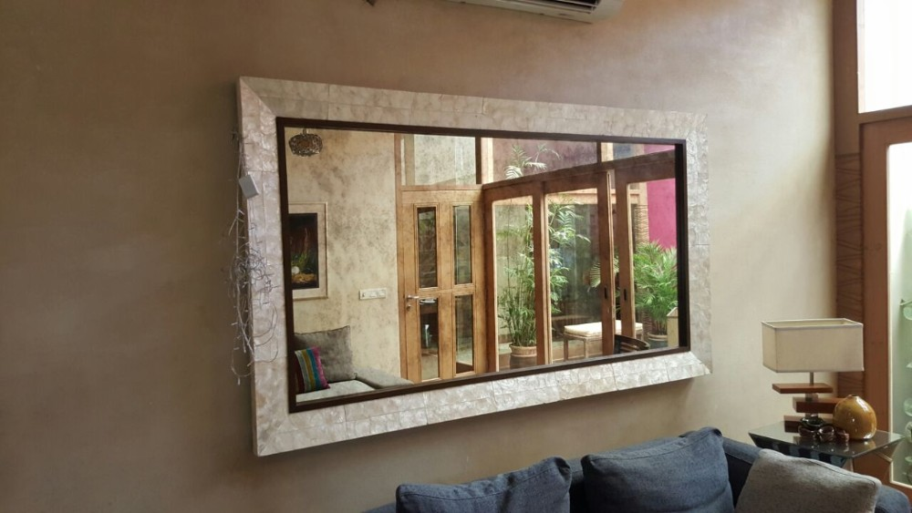 F017 Antique mirror made by manufacturer for Interior decoration