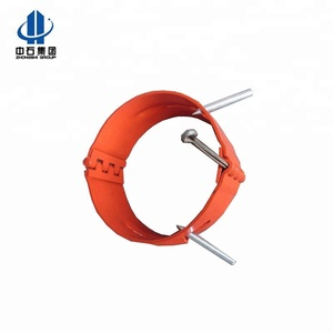 Slip-On Set Screw Stop collar ring for casing centralizer with Beveled Edge
