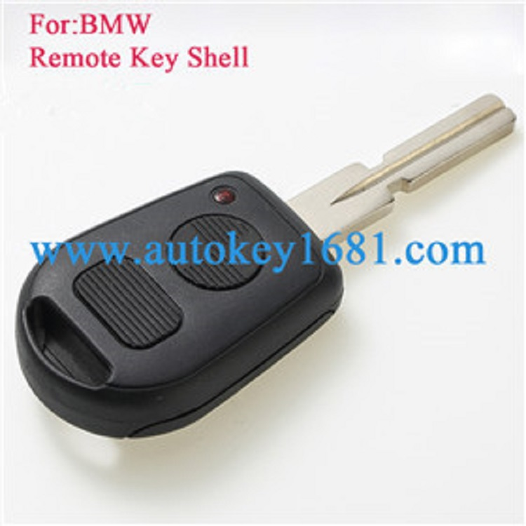 Remote Key Shell fit for BMW E31 E32 E34 E36 E38 E39 E46 Z3 Case Fob 2-Button Uncut