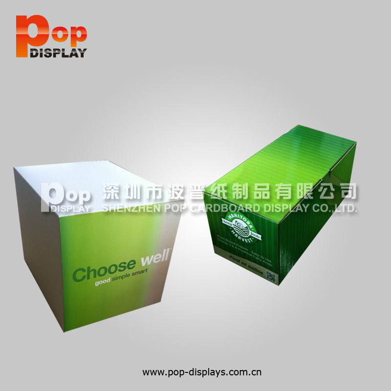 design cardboard display cashier counter
