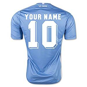Get Quotations · 2015-2016 Lazio Authentic Home Football Shirt (Kids) 3ce7b1733