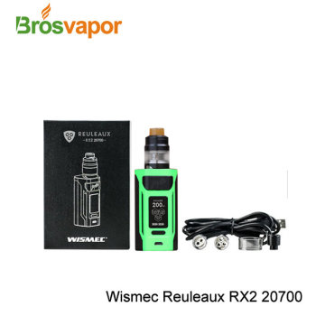 200W 20700/18650 New Arrival Wismec Reuleaux RX2 20700 Box Mod with 200w in stock