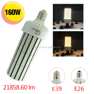 Omni-directional 160w e39 led corn light 480 volt lamp replace 400w high pressure sodium warehouse light