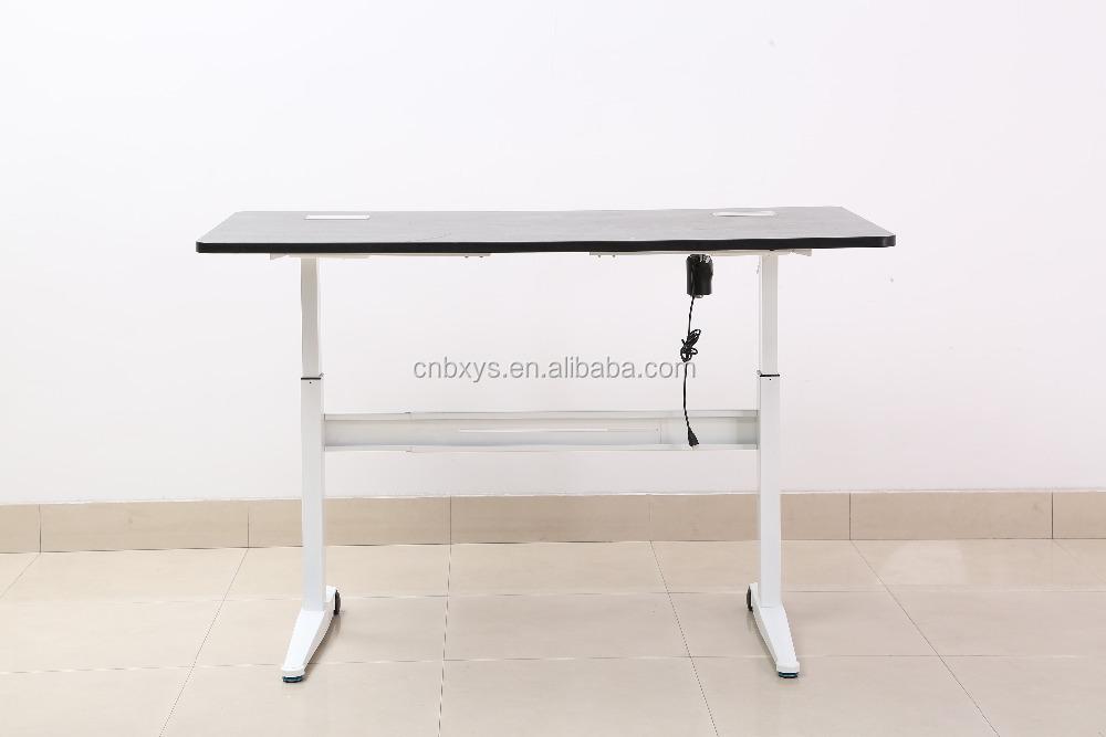 Travail facile meubles 2 jambe électrique bureaux réglables en