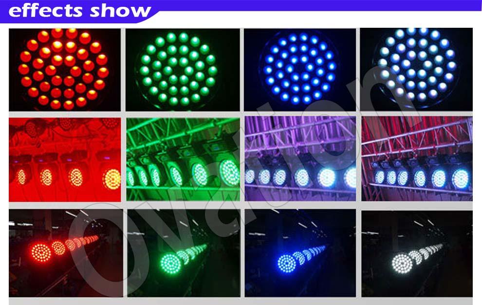 177pcs Led Rgb Par Can Light Dmx Led Par 64 Light