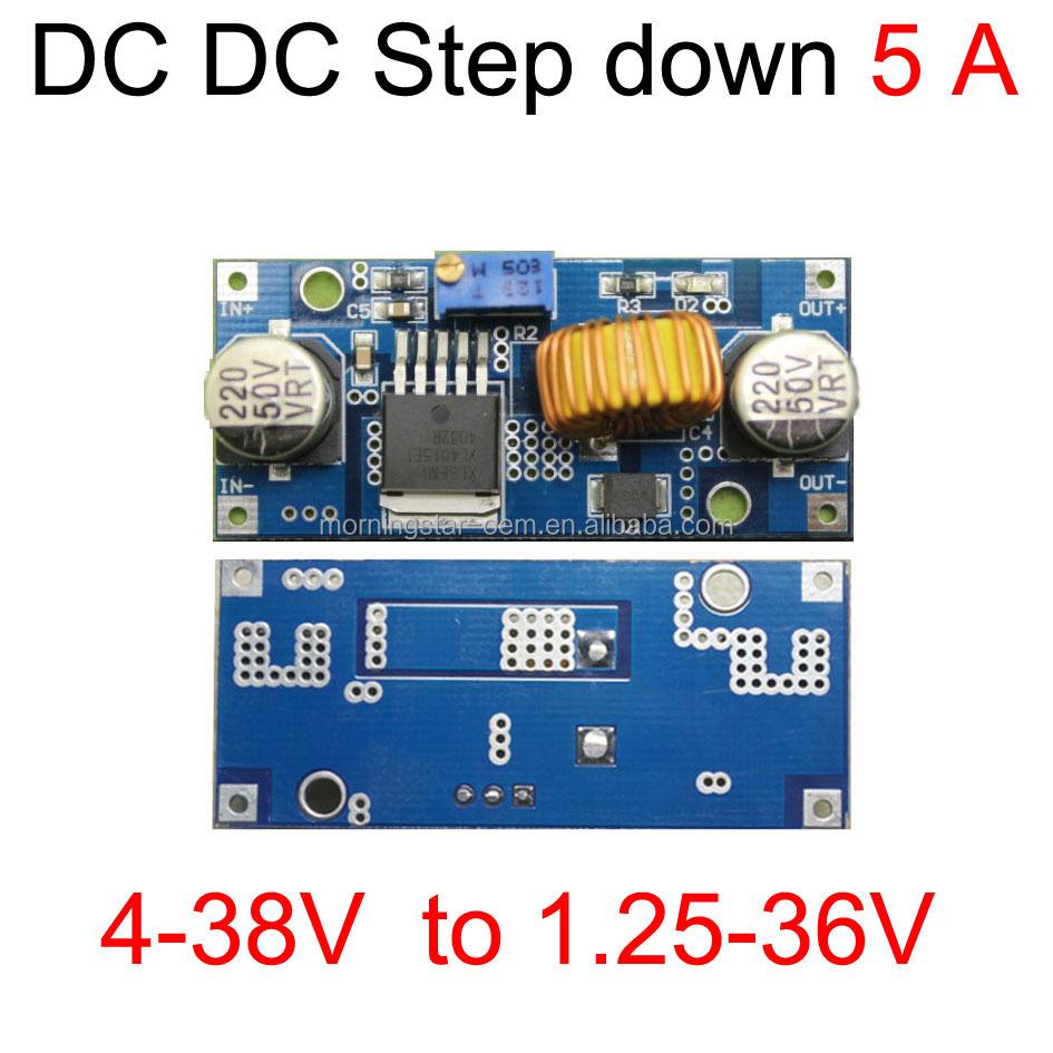 Dc Step Down Power Supply Module 4 38v To 125 36vadjustable Wiring Diagram Current 0 45a 5amax 75w 36v 24v 18v 19v 12v 5v Converter Buy