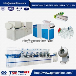 professional chewing gum manufacturing machine