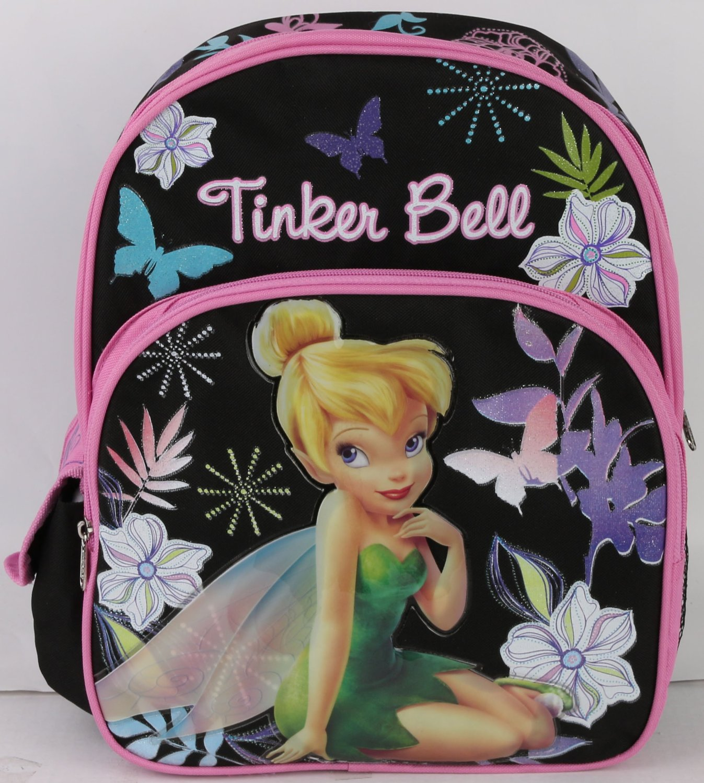 "Medium Backpack - Disney - Tinker Bell 14"" School Bag New 007613"