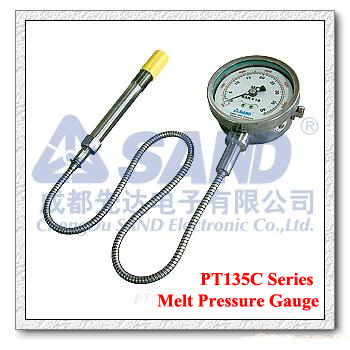 Melt Pressure Gauge With mv/v, 4-20mA ,0-10V output
