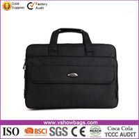 Newest black 17 inch computer bags men's laptop messenger bag