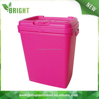 40L/53L airtight heavy duty box plastic/plastic stackable storage bins/ dog food container