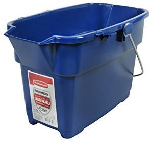Rubbermaid 1793555 14 Quart, Royal Blue, Roughneck Bucket - Quantity 12